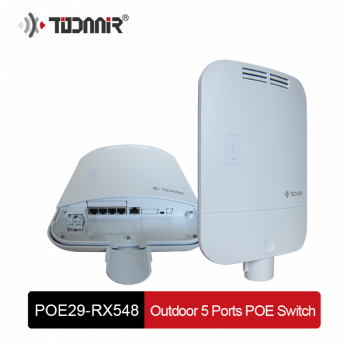TODAAIR OUTDOOR POE SWITCH 4P POE29-RX548W